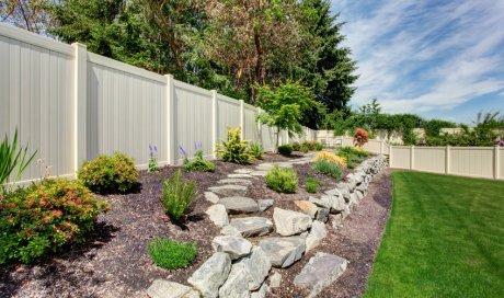 Construction et création de muret de clôture de terrain et jardin à Beaune